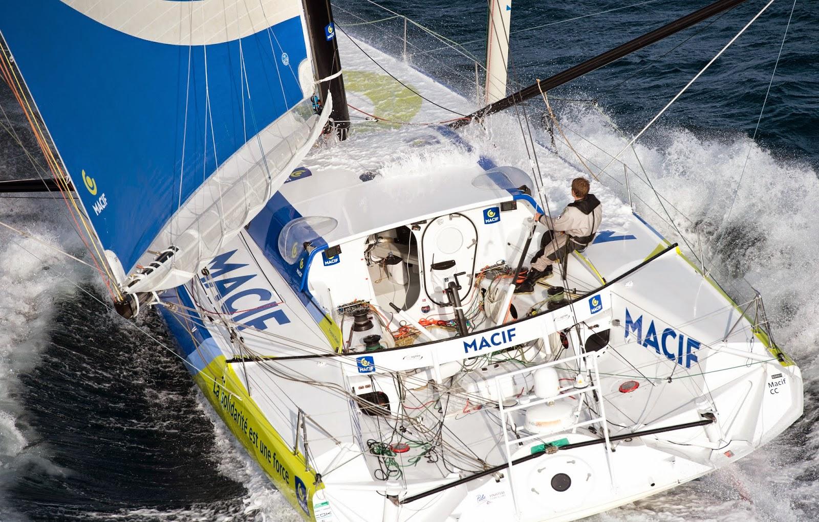 François Gabart et Macif rêvent d'accrocher la Route du Rhum.