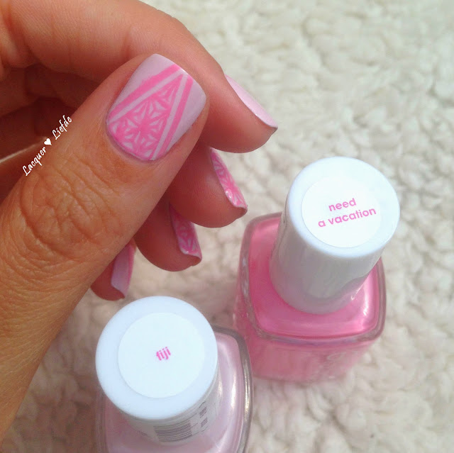 Asa No Ha Design Essie Fiji mit Essie Need a Vacation