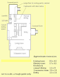 Floor Plan ~ Main level