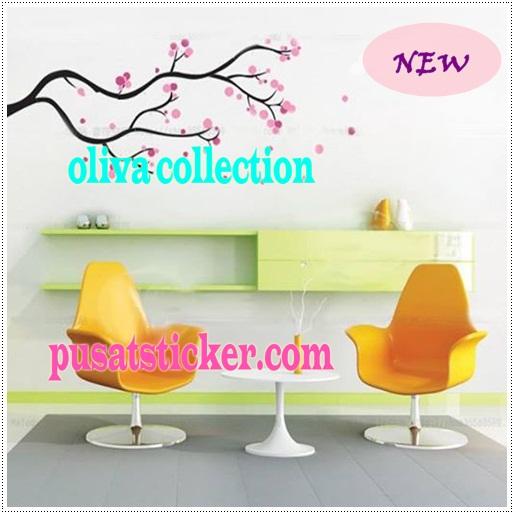Wall sticker sakura volkadot,sangat lucu dan unyu-unyu ya,dengan model ...