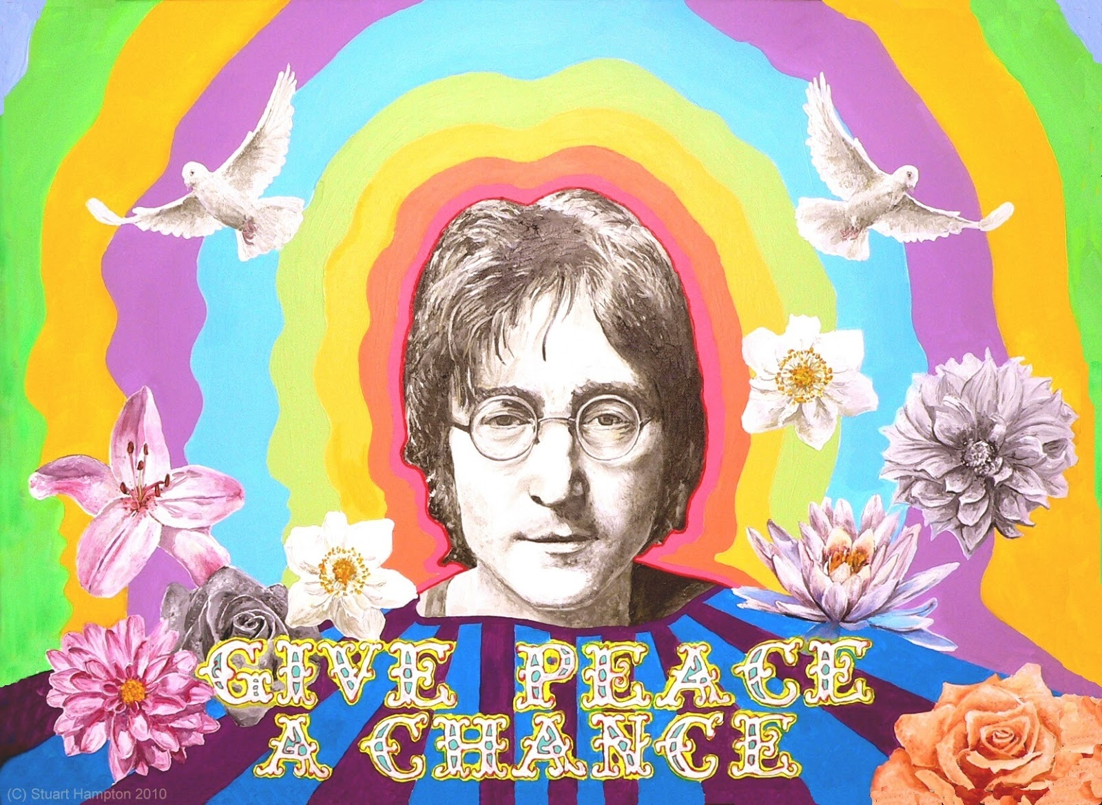 Bildresultat för Happy Birthday John Lennon