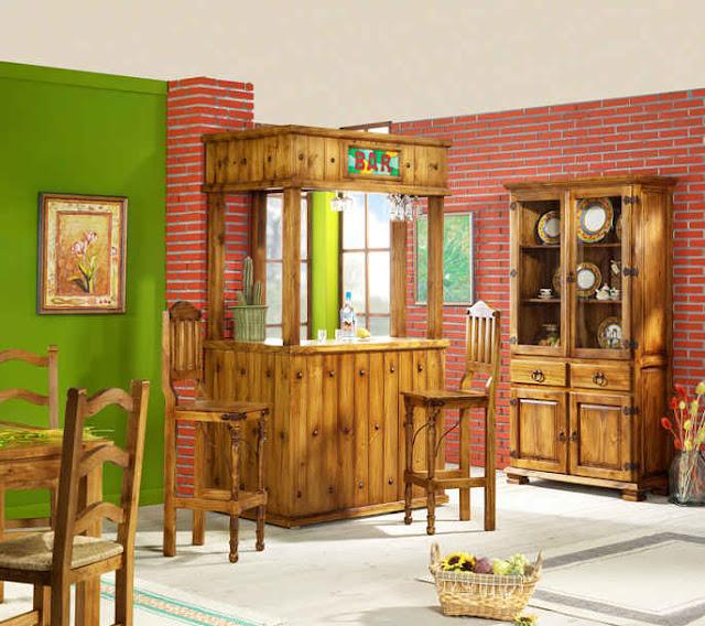 Baños Rusticos Artesanales:Muebles Rusticos De Madera