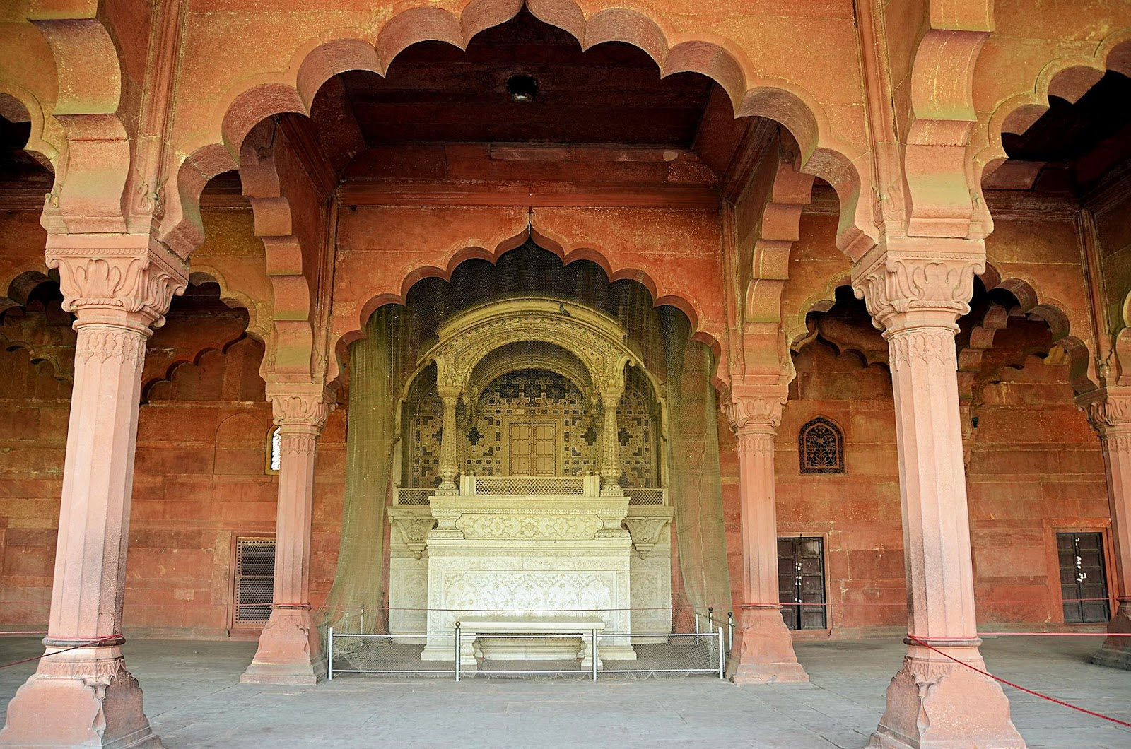 Pixelated memories diwan i am red fort new delhi for Diwan i aam images