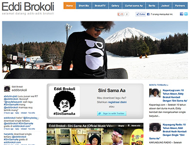 Website Resmi Eddi Brokoli