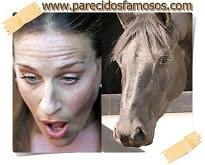 Sarah Jessica Parker otra foto con caballo