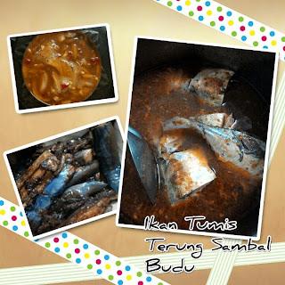 Ikan Tumis Terung Sambal Budu