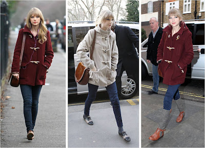 Mode Style Taylor Swift Style January 2012