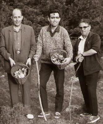 Ribera, Travesset y Pujol en Berga en 1965