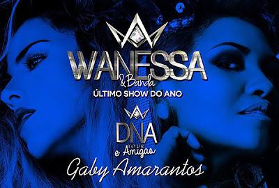 Vanessa e Gaby Amarantos juntas neste sábado em Sampa