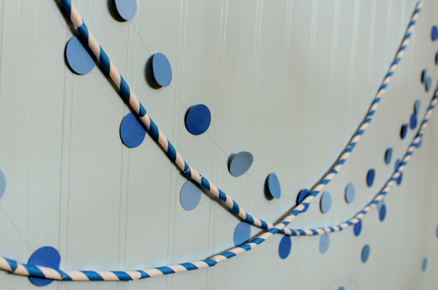 Paper Straw Garland