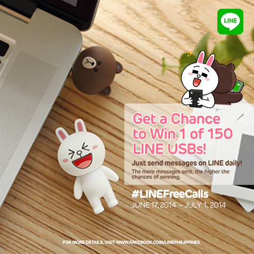 LINE free USB