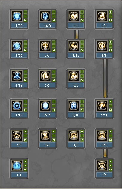Level 50 Skill Build for Guardian in Dragon Nest: