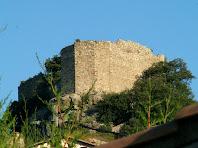 Façana de llevant del Castell de Granera
