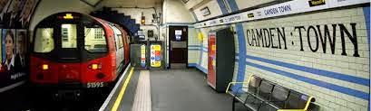 Camden Town tube.