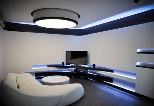 TV Lounge Interiors | Interior Design And Deco