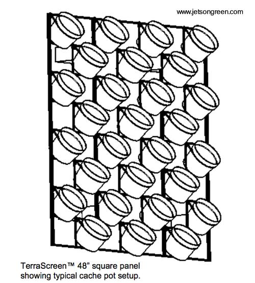 jardines verticales de interiores