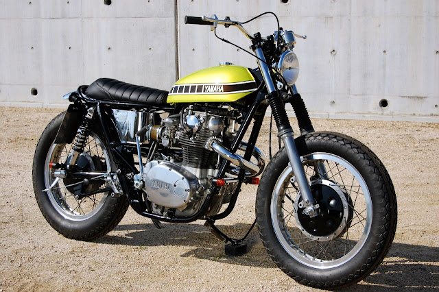 YANERO  S CORNER  YAMAHA XS650 TT Tribute Tracker by Big Moon