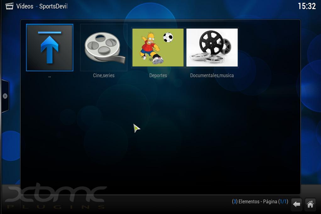 SportsDevil 1.8.5.3 : Completo