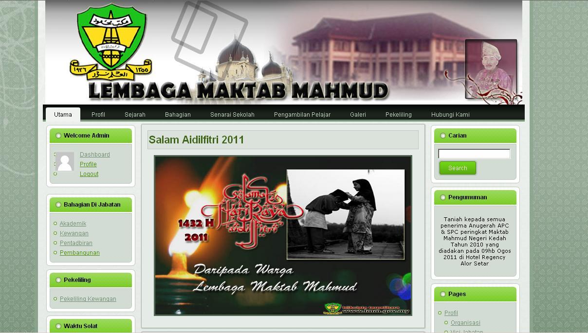 Logo Maktab Mahmud
