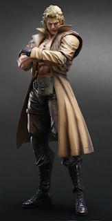Squre Enix Play Arts Arts Metal Gear Solid 2: Sons of Liberty Liquid Snake Figure