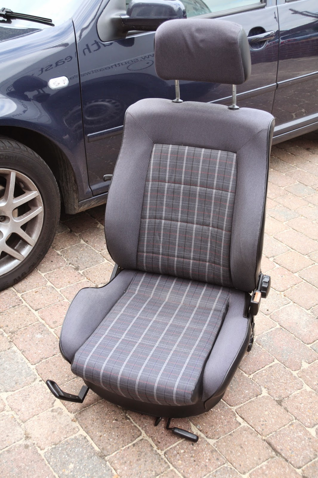 Early Golf GTI seat with front adjustment lever