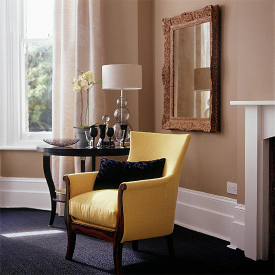 Two Tone Living Room Colors