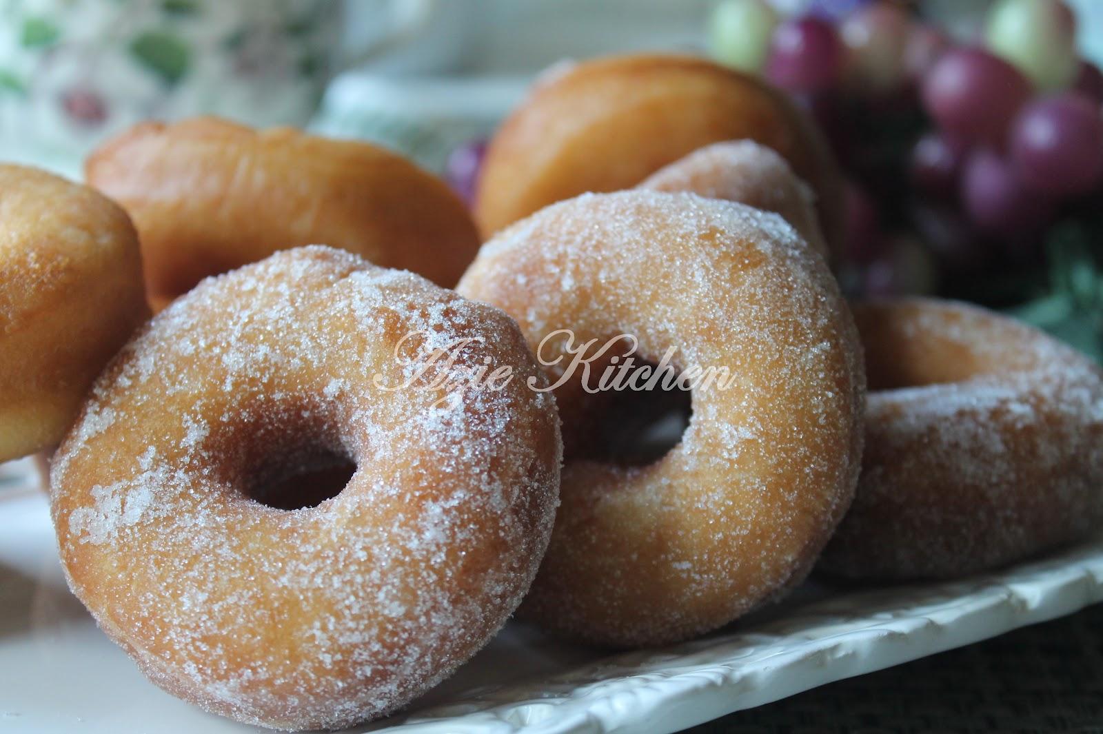 Resepi II: Donut Yang Gebu Gebana - Azie Kitchen