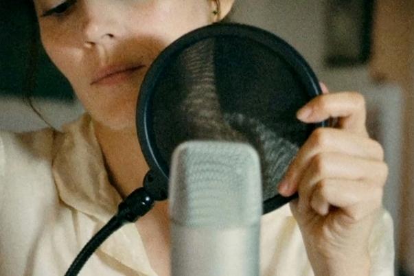 La voz en off
