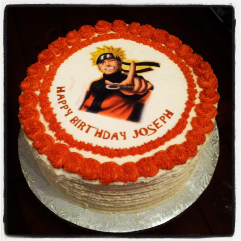 M Cakes Designs Cool Naruto Shippuden Cake