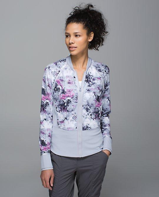 lululemon if you're lucky jacket