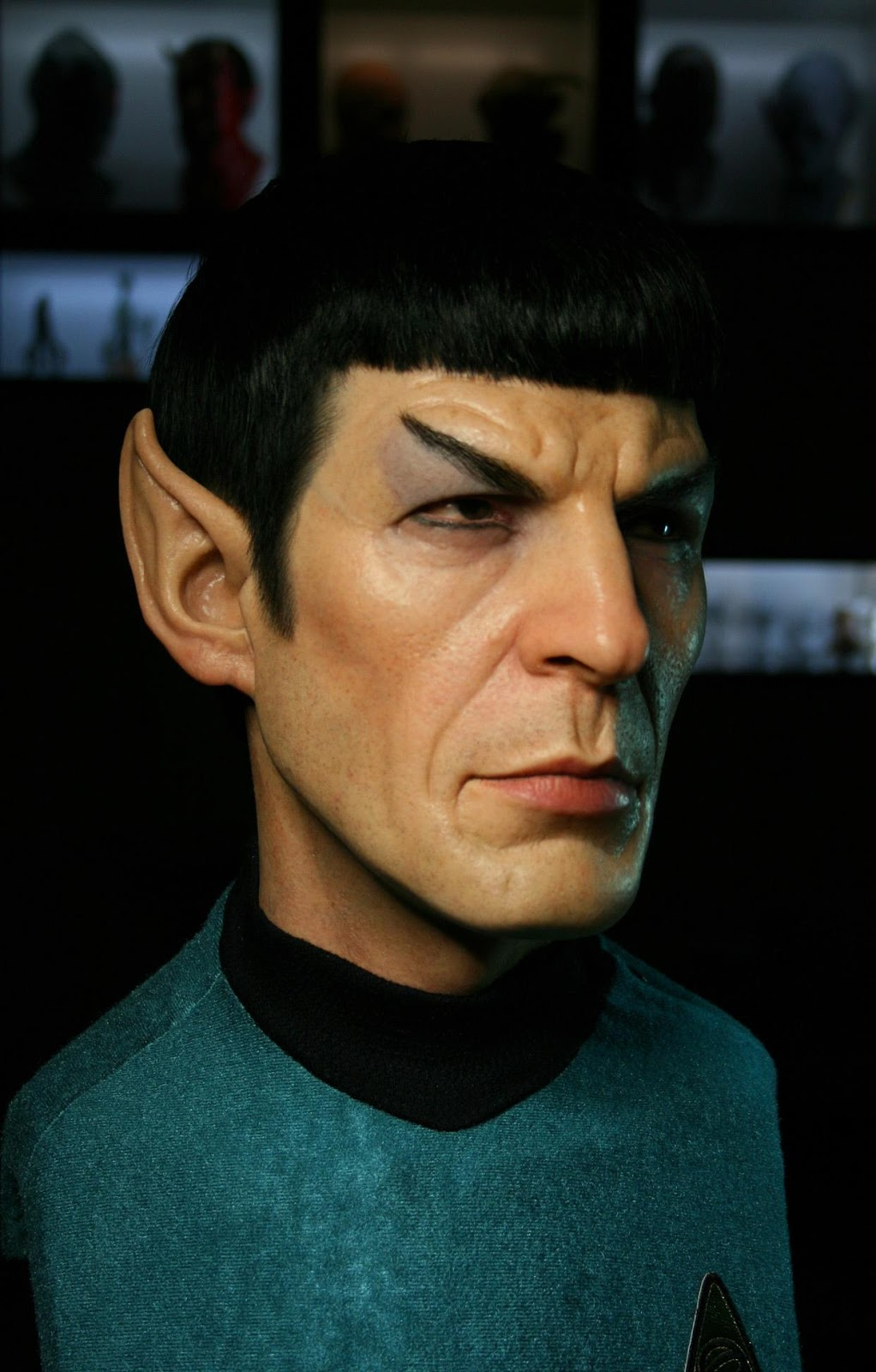 Leonard Nimoy Spock Muddy Colors: S...