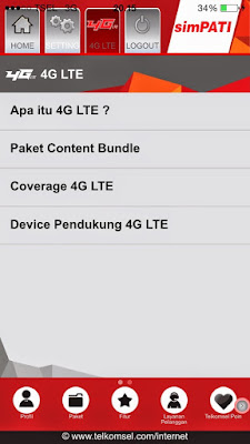 Foto Cara Daftar Paket 4G LTE Telkomsel Simpati Registrasi Kartu