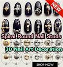 Spiral Round Nail Studs