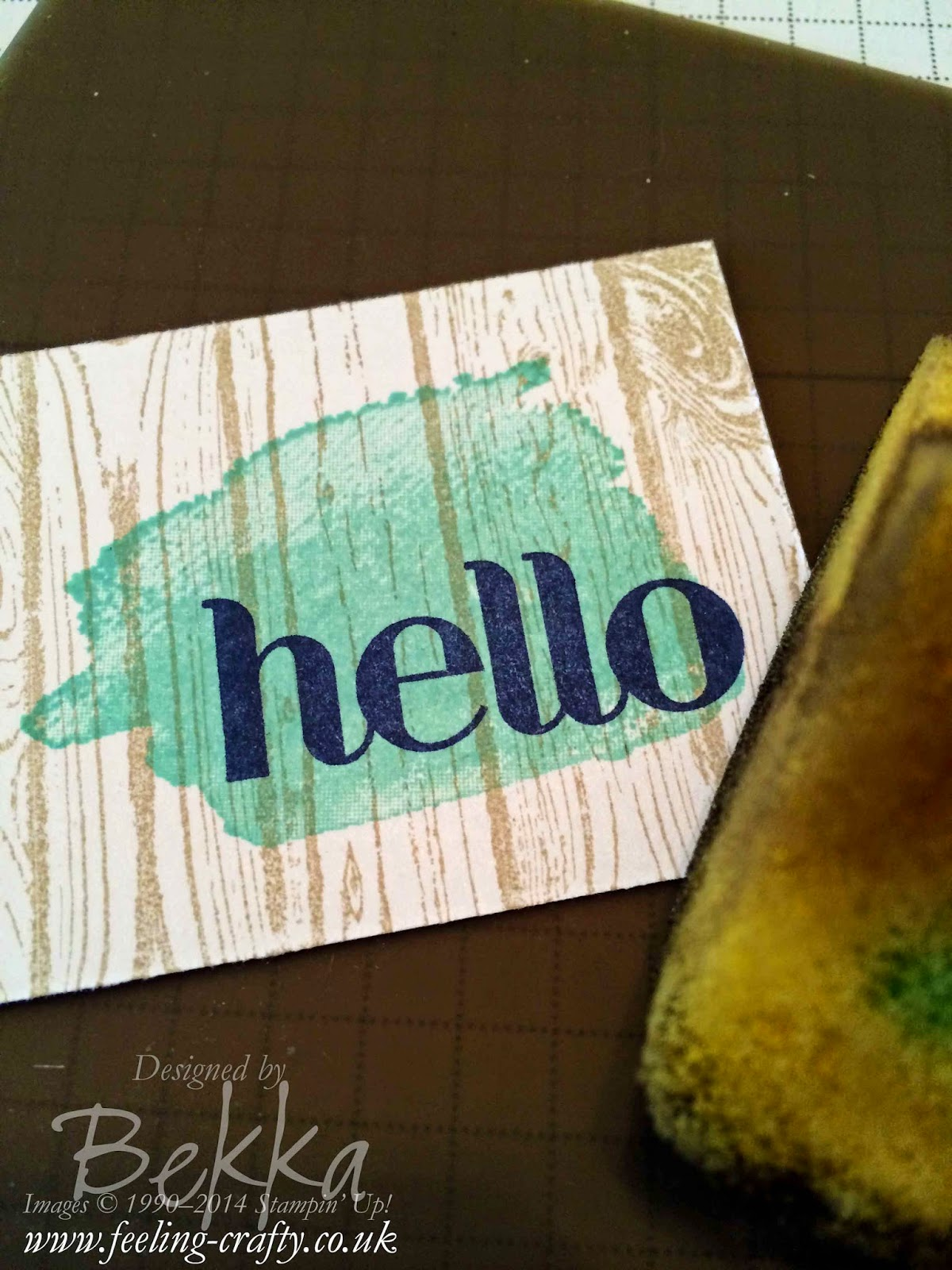 5 Ways to use your Silicone Craft Sheet from Stampin' Up!