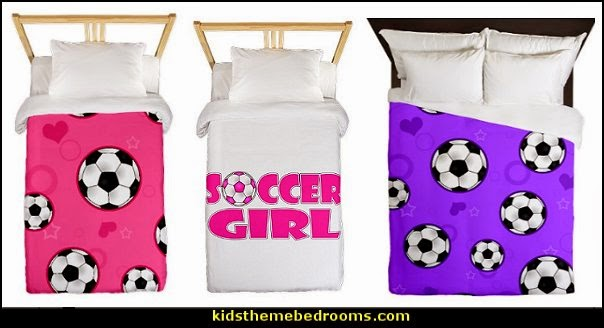 Decorating theme bedrooms - Maries Manor: girls sports themed ...