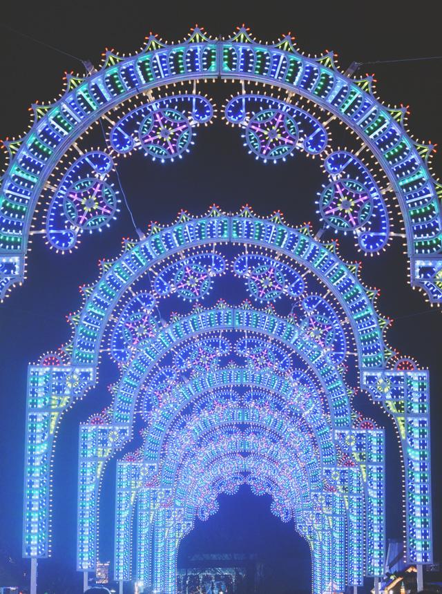 Winter Wonderland Luminaires