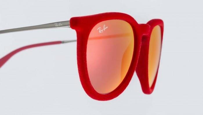 gafas ray ban rojas hombre