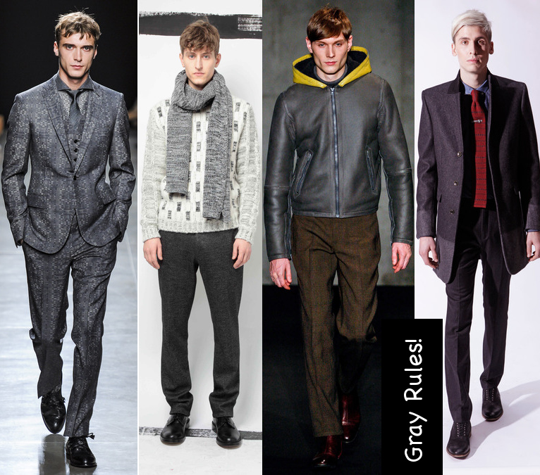 mens fall 2013 gray hues clothes