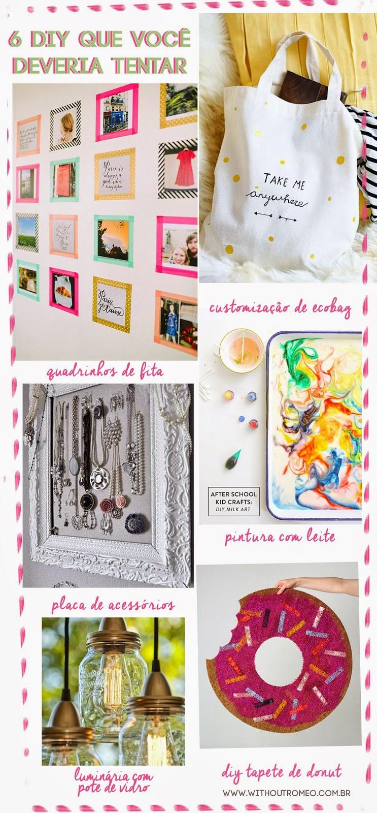 faça você mesma decoração, tapete donut, acessórios, ecobag, pintura com leite