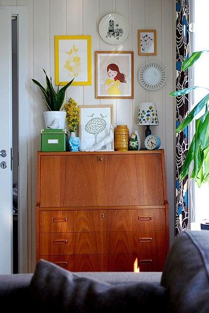 κρεβατοκάμαρα κουρτίνα dresser