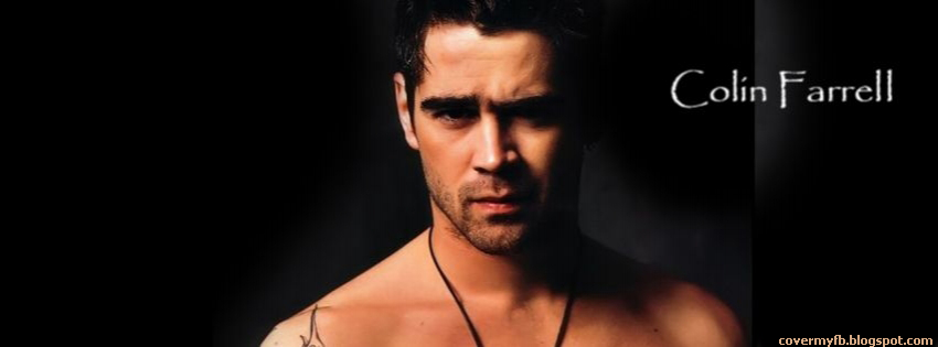 Facebook Timeline Cover Of Colin Farrell.