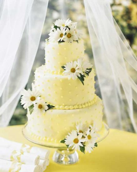 Decorate Cake With Fresh Flowers : Decorate Wedding Cakes With Fresh Flowers