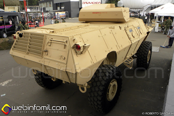 EXPODEFENSA 2014 M1117%2BGuardian%2BColombia%2BExpodefensa