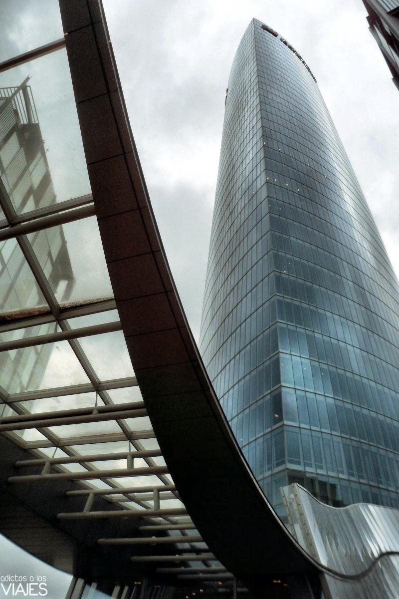 Rascacielos de espa a torre iberdrola en bilbao adictos a los viajes blog de viajes - Oficinas de iberdrola en madrid ...