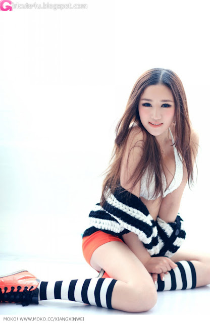 2 To Xinwei - warm winter photo-very cute asian girl-girlcute4u.blogspot.com