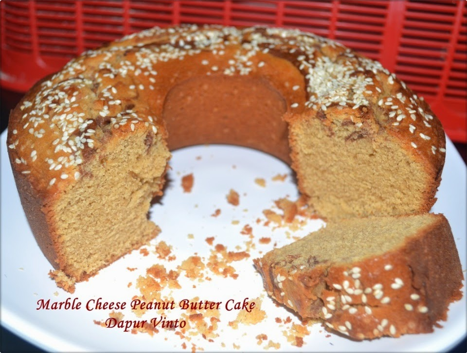 Marble Cheese Peanut Butter Cake