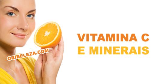 Com Vitamina C e Minerais