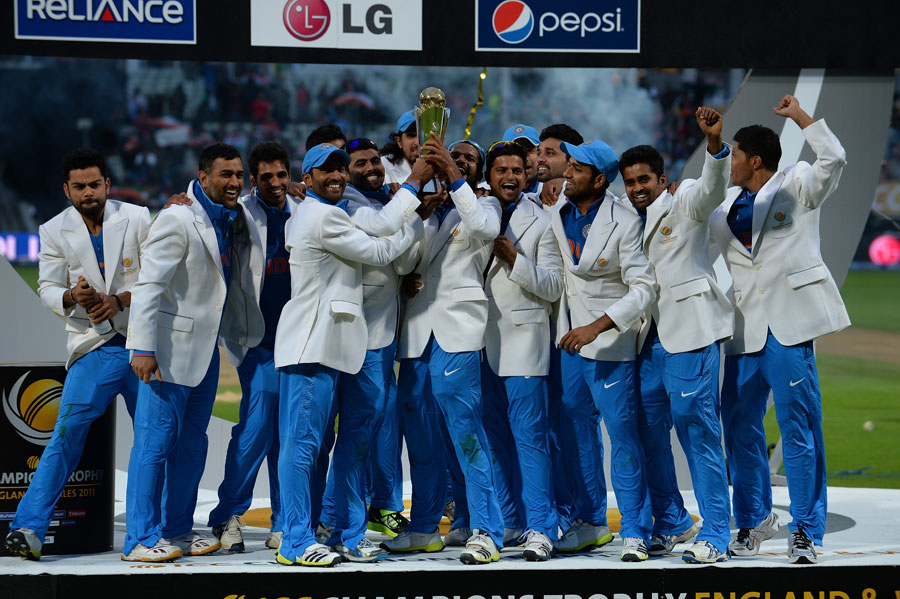 Indian Team won Champions Trophy-2013
