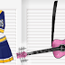 Free Hell Cats Outfit and Pink Guitar