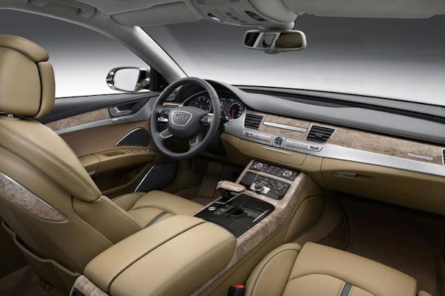 2012 Audi A8 L W12 Front Interior